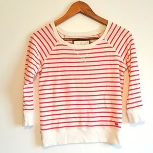 ABERCROMBIE AND FITCH women's striped shirt XS